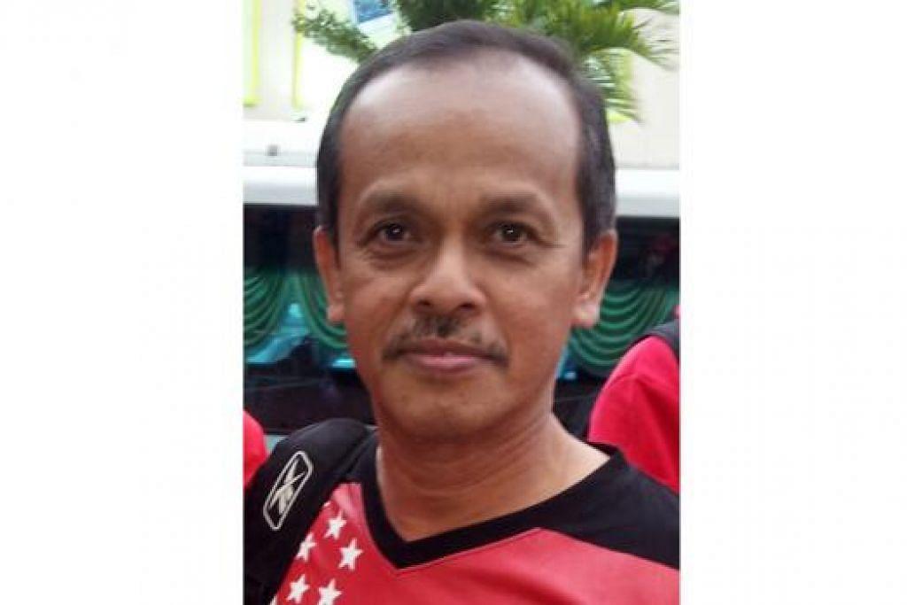 SUPARTO TUKIMIN: Masih tidak dapat lupakan kenangan menyaksikan kehebatan (Allahyarham) Dollah Kassim dan Quah Kim Song semasa zaman Piala Malaysia dulu. - Foto fail