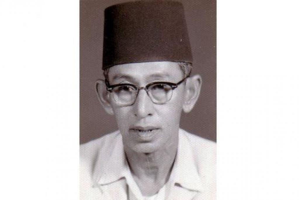 TUKAR NAMA: Madrasah Al-Irsyad diberi nama baru sempena mengiktiraf jasa Allahyarham Kiyai Haji Ahmad Zuhri Mutammim (atas). - Foto fail dan PERGAS