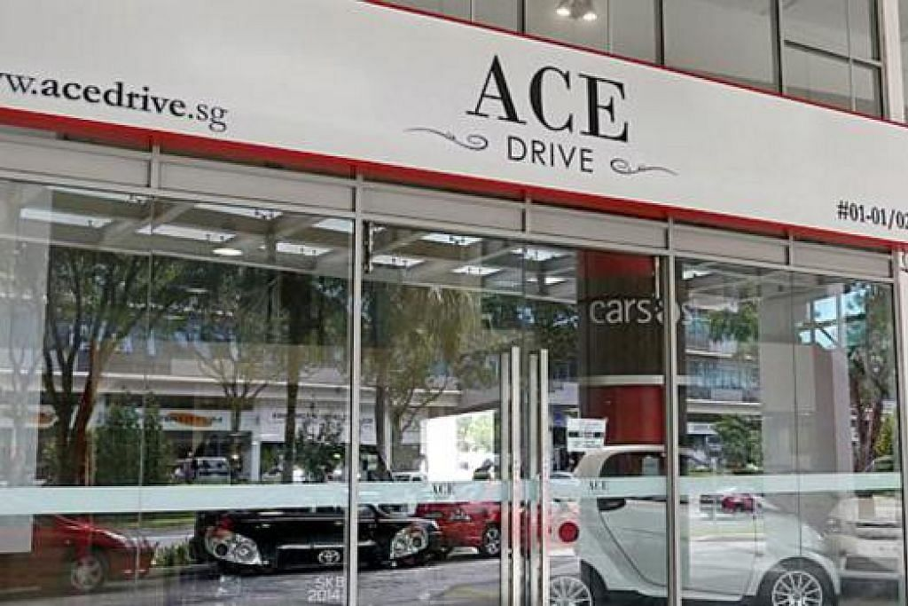 DAPAT ADUAN: Case menerima enam aduan terhadap syarikat Ace Drive, sebuah syarikat sewa kereta, yang terletak di Ubi Avenue 3 dalam tempoh tujuh bulan pertama tahun ini. - Foto THE STRAITS TIMES