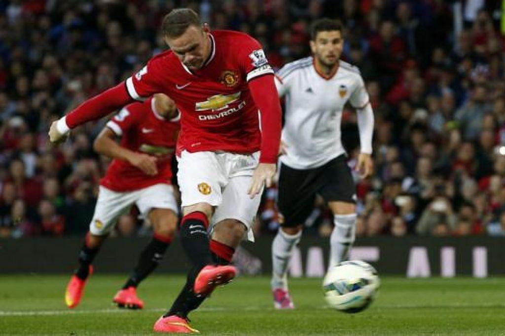 DETIK BANGGA: Pemain penyerang, Wayne Rooney, menganggap pemilihannya sebagai kapten baru Manchester United sebagai satu penghormatan baginya. - Foto REUTERS