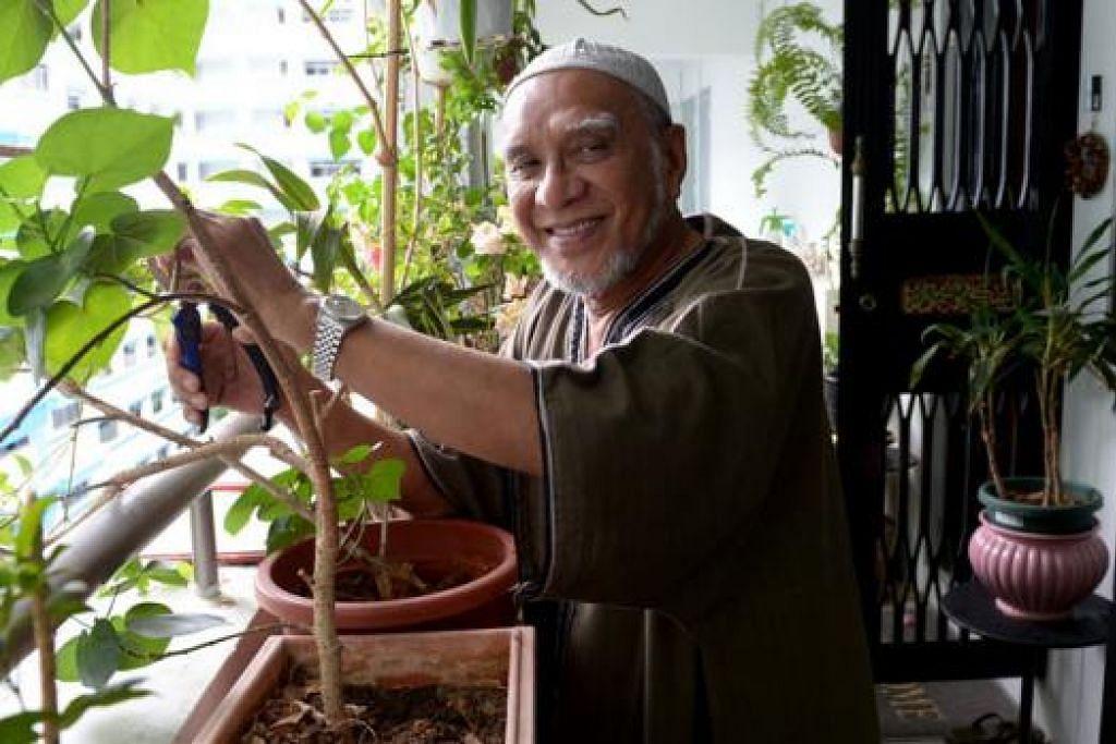 TIADA LAGI KONFRONTASI: Encik Abdul Rahman yang aktif dalam kesatuan sekerja selama 38 tahun berkata pendekatan kerjasama pekerja-majikan bantu membangunkan negara dan menarik pelabur asing. - Foto TUKIMAN WARJI