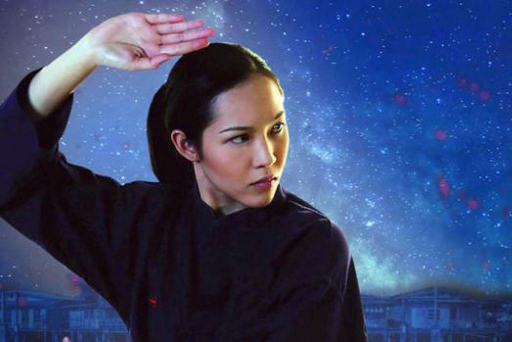 USAHA SULUNG BRUNEI: 'Yasmine', filem silat yang dijayakan Liyana Yus, merupakan satu percubaan mengetengahkan kebolehan pembikin filem Brunei dalam menyumbang ke arah industri filem Melayu serantau. - Foto ORIGIN FILMS