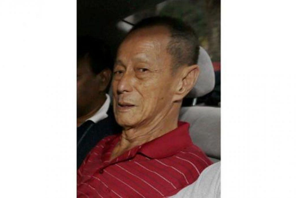 CHAR CHIN FAH: Ditahan lagi bagi siasatan lanjut dan akan dihadapkan ke mahkamah sekali lagi Jumaat depan. - Foto THE STRAITS TIMES