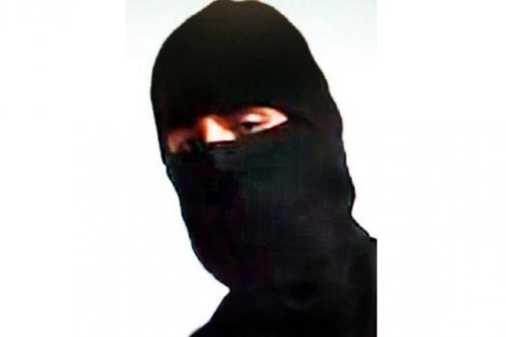 BELUM DIKENAL PASTI: Pembunuh Foley dipercayai warga Britain. - Foto fail