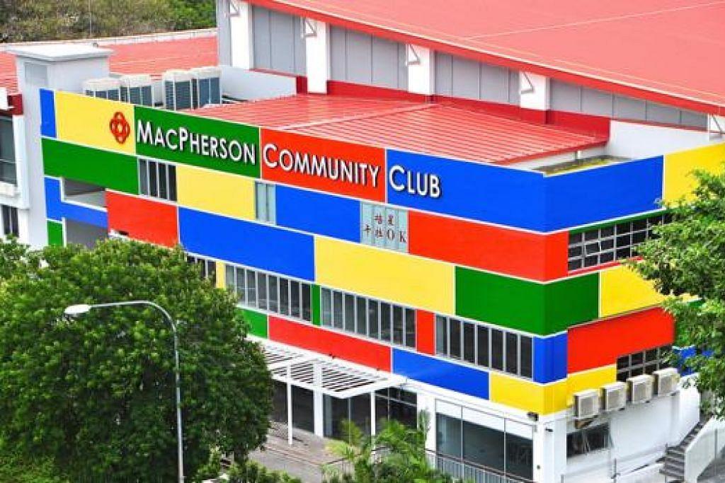 BERWAJAH BARU: Kelab Masyarakat MacPherson menjadi ikon yang mewarnai kehidupan penduduk di estet perumahan MacPherson. - Foto MACPHERSON CC