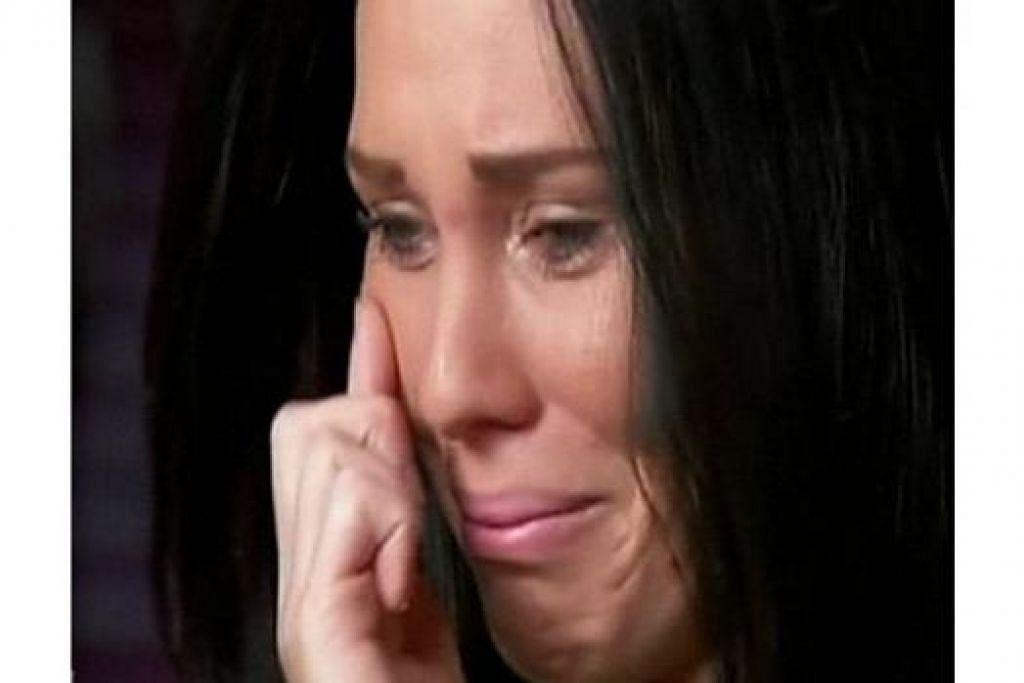 CIK LAURA BUSHNEY: Memberitahu saluran televisyen Australia mengenai pengalaman pahitnya yang telah pun disahkan Malaysia Airlines. - Foto INTERNET/CHANNEL 7/ SUNDAY NIGHT
