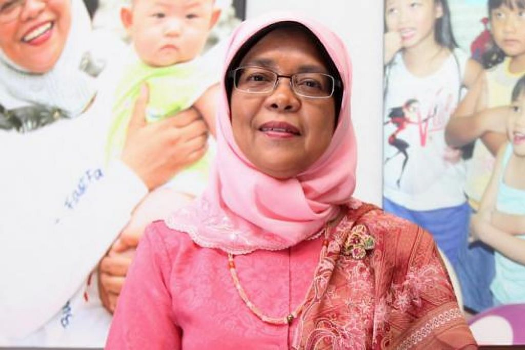 Speaker Parlimen, Cik Halimah Yacob.