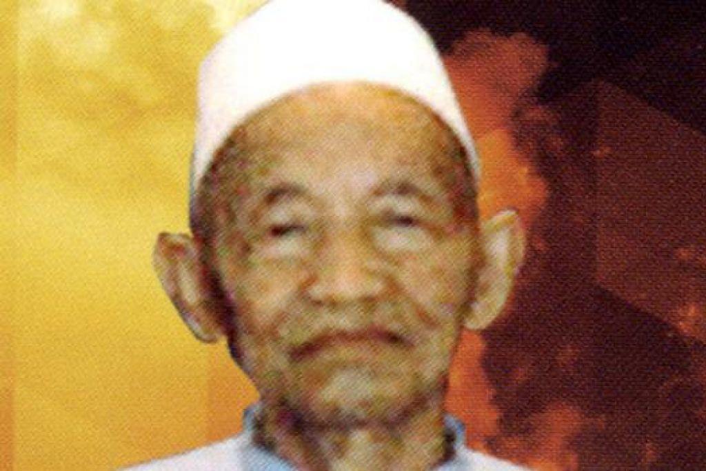USTAZ MOFRADI MOHD NOOR: Aktivis PAP yang turut mengajar agama dan mendirikan sebuah madrasah. - Foto PERGAS