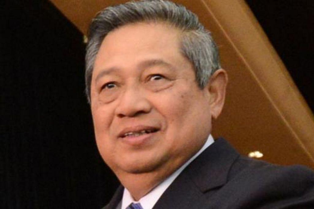 DR YUDHOYONO: Bakal menerima anugerah tertinggi kerana sumbangan positik kepada hubungan Singapura dan Indonesia. - Foto AFP