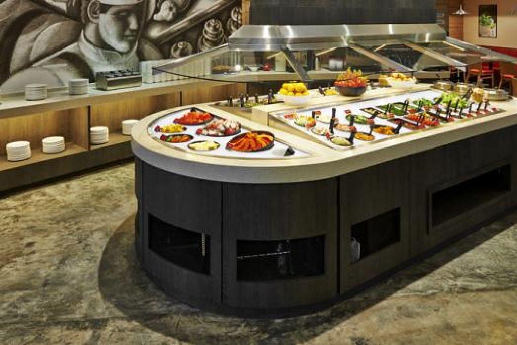 PERADUAN MAKAN SALAD: Restoran Seasonal Salad Bar bakal menganjurkan pertandingan 'Salad Chowdown' dengan kerjasama Berita Harian. - Foto SEASONAL SALAD BAR