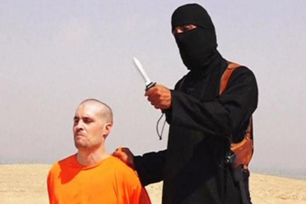 KORBAN PERTAMA: James Foley menjadi wartawan Amerika yang pertama dipenggal oleh militan IS. - Foto fail REUTERS