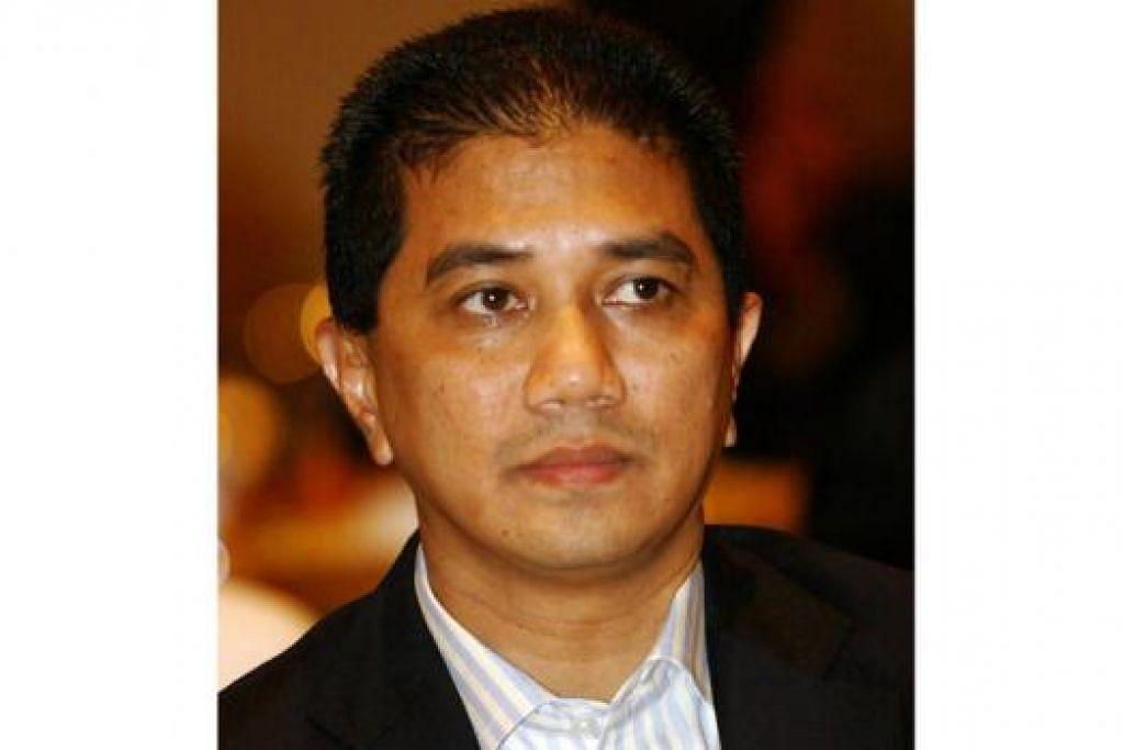 ENCIK AZMIN: Calon alternatif selepas Dr Wan Azizah ditolak.