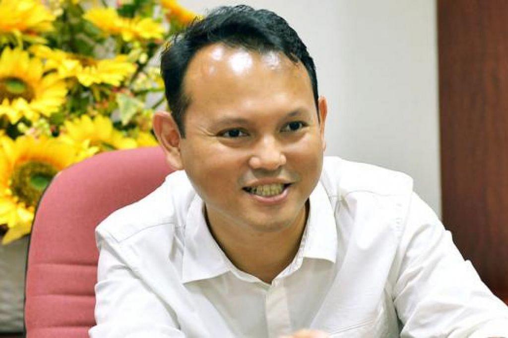 Pengerusi Bulan Bahasa yang juga Anggota Parlimen GRC Chua Chu Kang, Encik Zaqy Mohamad.