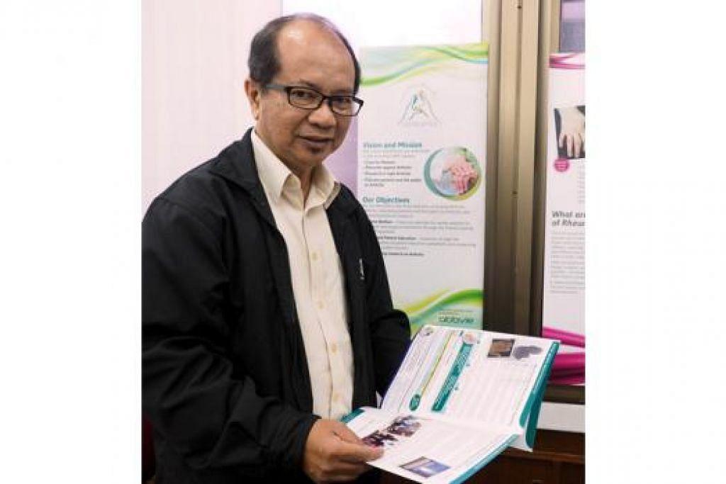 ENCIK ZULKIFLI MOHAMMED: Pengarah Eksekutif, Yayasan Artritis Kebangsaan