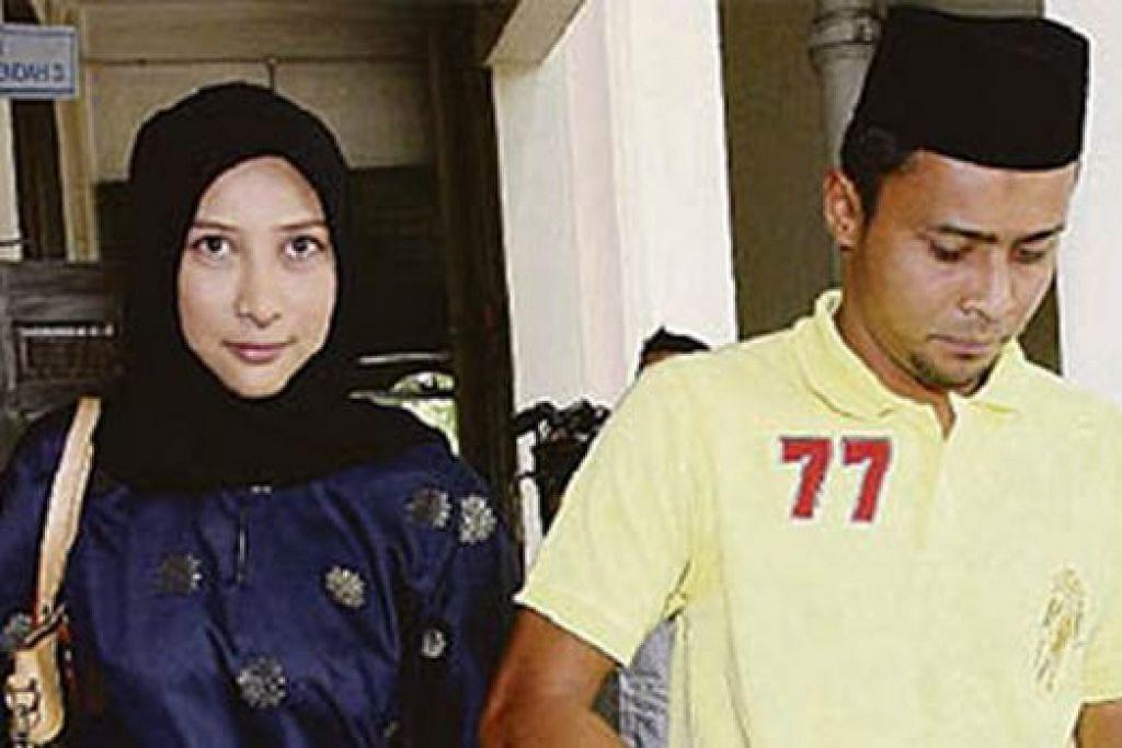 BERPISAH DENGAN ISTERI: Kembar Zaquan, Aidil Zafuan (kanan), pula kini menghadapi tuntutan nafkah daripada isterinya, pelakon Rita Rudaini, selepas mereka bercerai. - Foto BHM