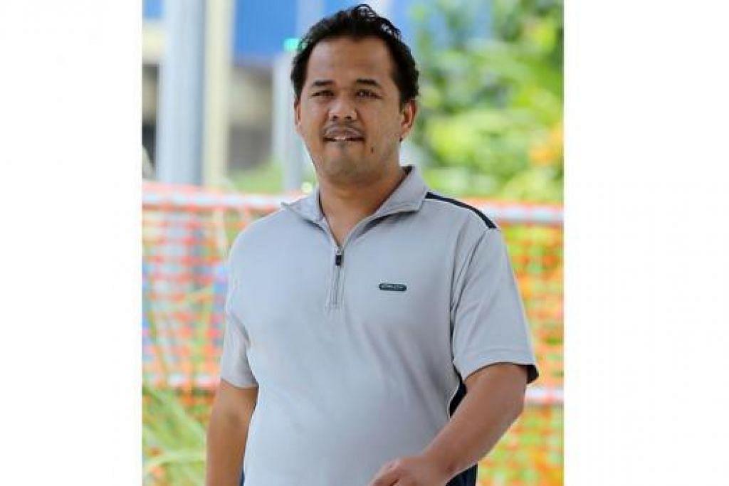 MENGAKU SALAH: Zainal Ariffin Selamat berniat merogol wanita penginap Marina Bay Sands Hotel pada Hari Krismas tahun lalu. - Foto THE STRAITS TIMES