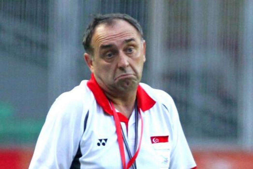 PAVKOVIC: Mainkan peranan penting dalam pelancaran Pusat Kecemerlangan (COE) di kelab Liga-S awal tahun ini.