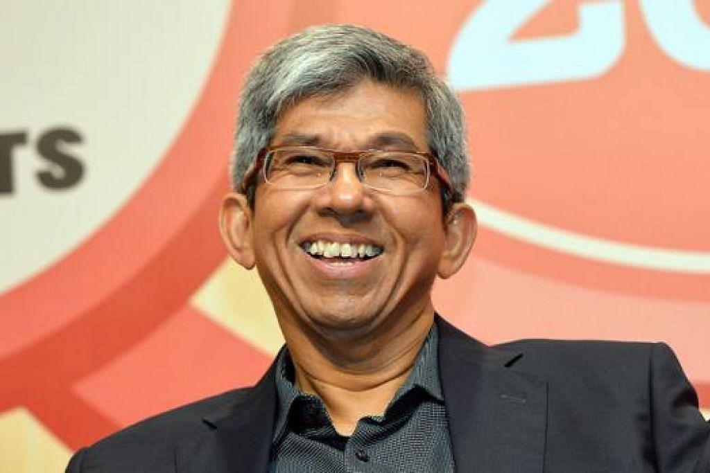 DR YAACOB IBRAHIM: Mengetuai delegasi Singapura ke Kuala Lumpur. - Foto fail