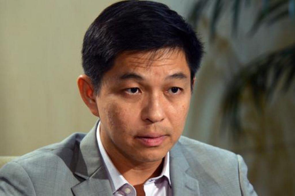 Menteri Tenaga Manusia Encik Tan Chuan-Jin