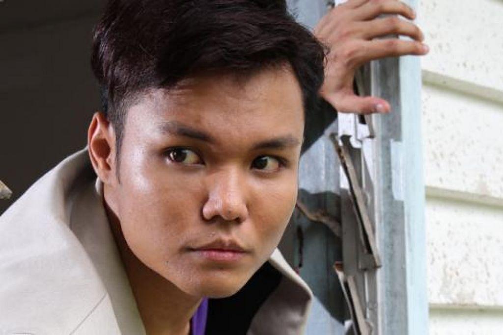 BUKAN REZEKI: Hyrul Anuar terpaksa melepaskan peluang keemasan bertanding di peringkat separuh akhir SG Mania kerana latihan kerahan. - Foto fail