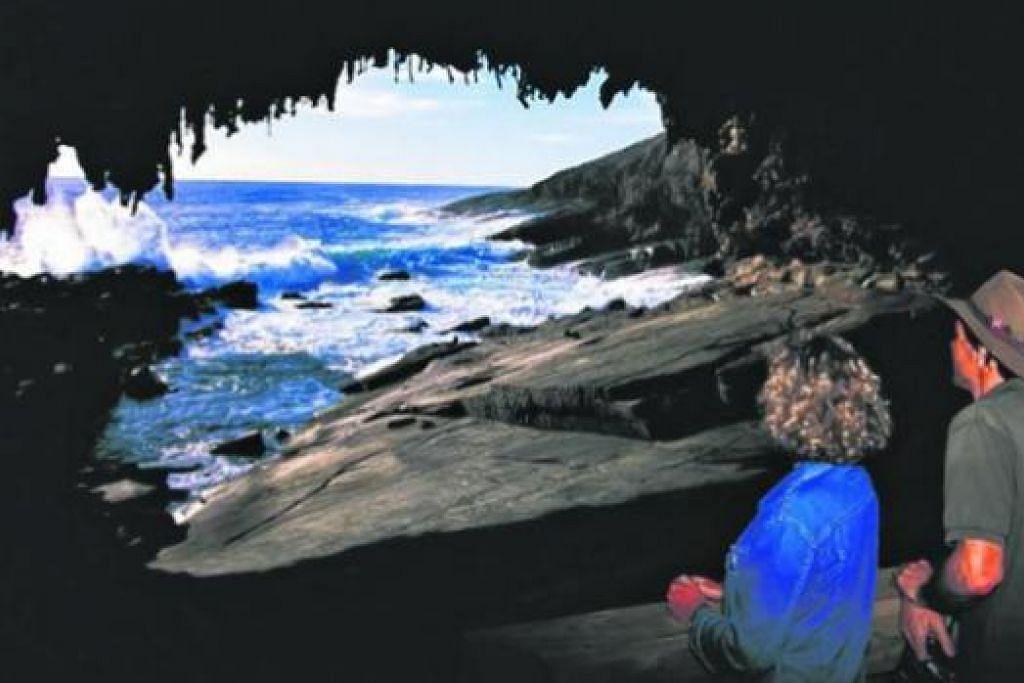 TARIKAN ALAMI: Antara tarikan di selatan Australia ialah gua Admiral's Arch. - Foto SURUHANJAYA PELANCONGAN AUSTRALIA SELATAN