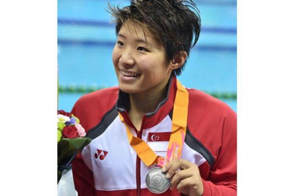 TAO LI: Sudah berikan yang terbaik dan berusaha mengejar perenang China tetapi mengakui lawannya itu terlalu pantas. - Foto AFP