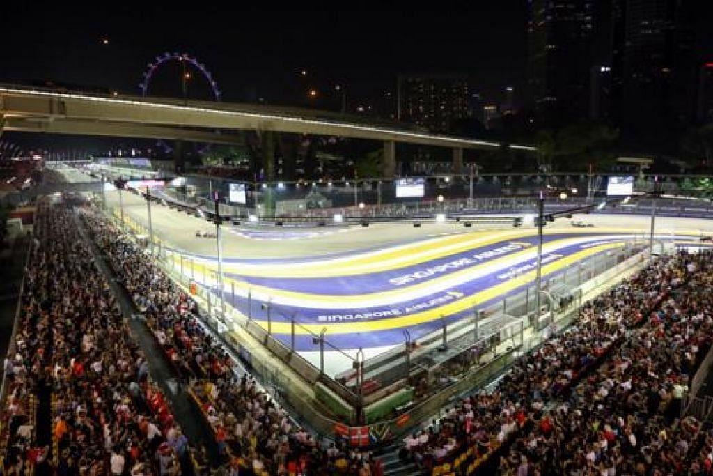 - FOTO SINGAPORE GRAND PRIX