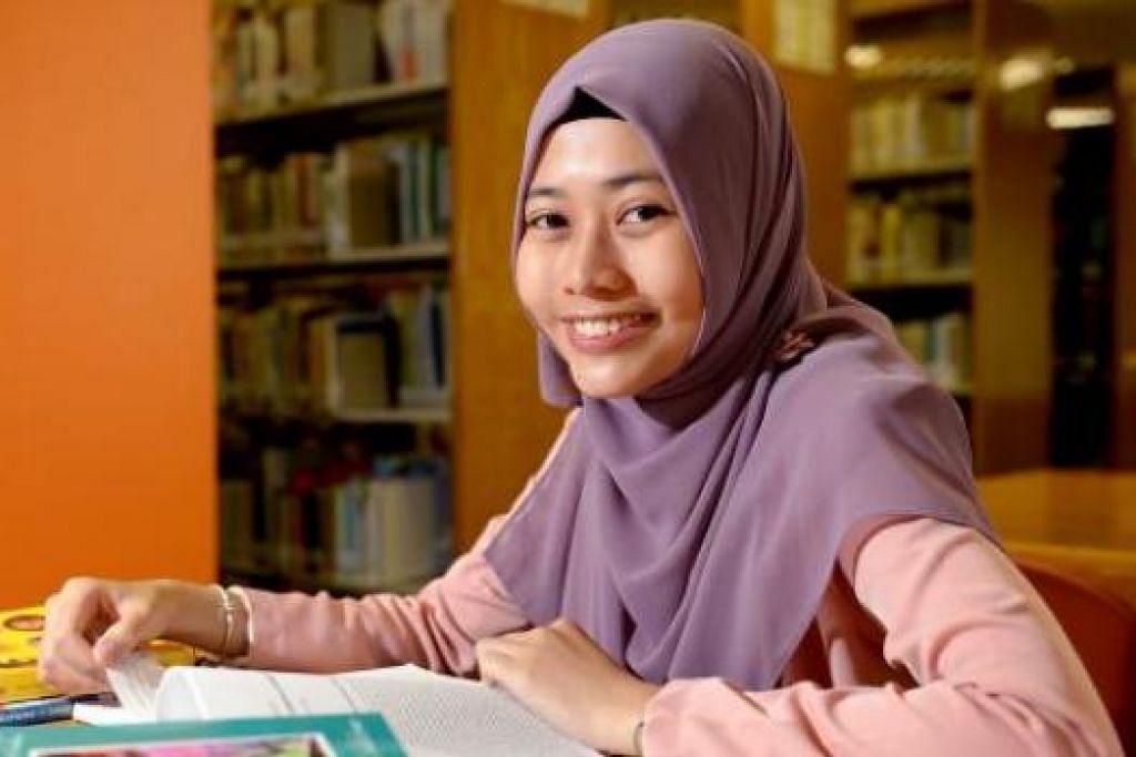 BERKHIDMAT KEPADA MASYARAKAT: Cik Nurnina Syazwani Sam'an ingin menyumbang kepada masyarakat dengan menubuhkan sebuah pusat penjagaan kanak-kanak Islam bagi yang kurang upaya. - Foto TUKIMAN WARJI