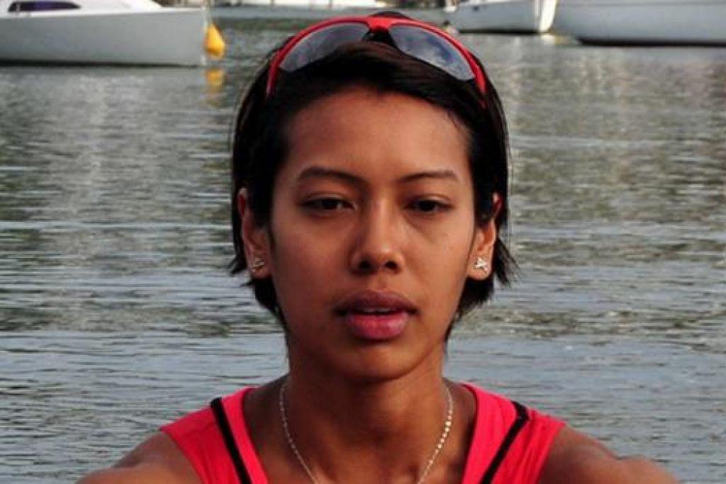 SAIYIDAH AISYAH: Kekalahan di Sukan Asia ini merupakan satu pengajaran berharga kepadanya. - Foto SPORT SINGAPORE