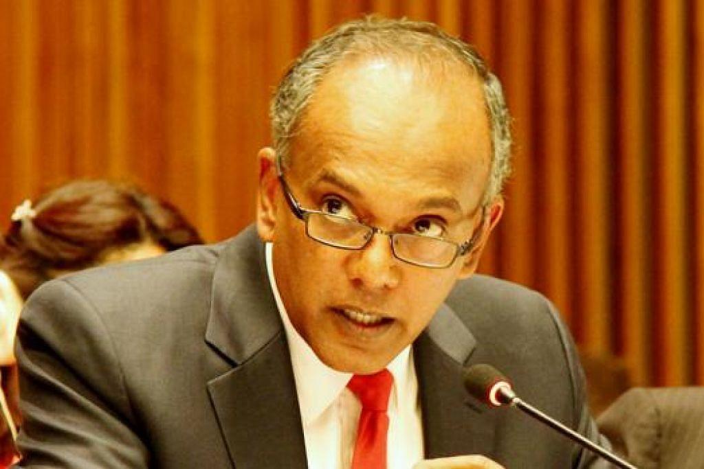 K Shanmugam. - Foto: MINISTRY OF FOREIGN AFFAIRS