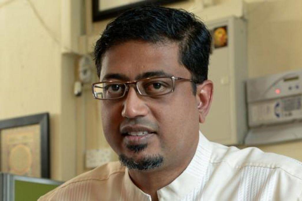 USTAZ MOHAMMED NASSIR: Bangunkan laman SimplyIslam.sg yang menyentuh tentang ehwal Islam dalam bahasa Inggeris di Singapura dan di rantau ini.
