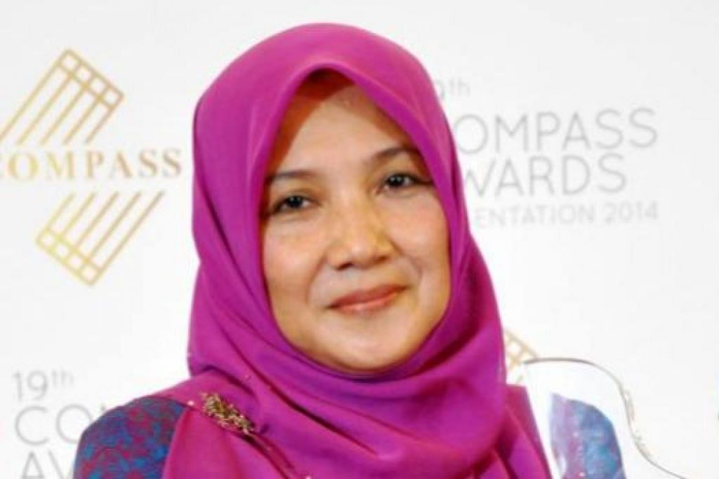 Puan Hartinah Ahmad.