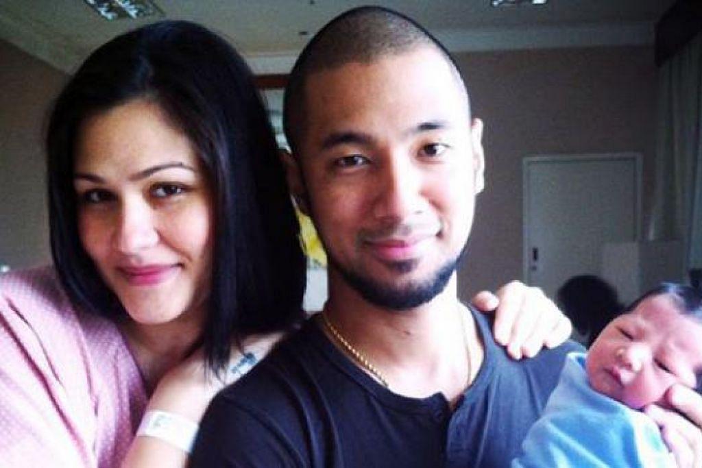 PENYERI HIDUP: Anak lelaki pasangan Rima dan Marcell diberi nama Seth Ananda Siahaan. - Foto RIMA MELATI ADAMS