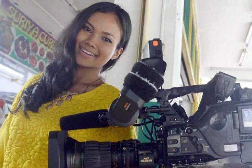 TEBAR SAYAP KE EROPAH: Nadiah M. Din ditawarkan peluang berlakon dalam filem Itali bertajuk Le Badanti, yang bakal ditayangkan di Eropah sekitar Mei tahun depan. - Foto TAUFIK A. KADER