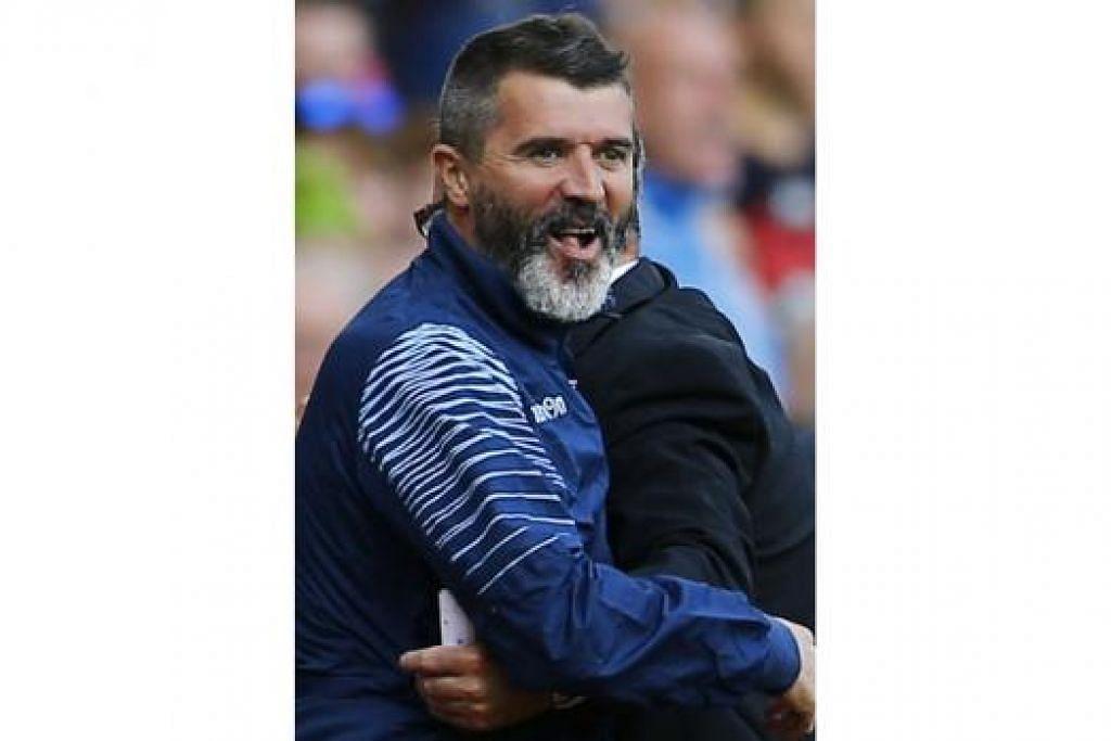 MASIH DEGIL MACAM DULU: Bekas kapten Manchester United yang panas baran, Roy Keane, menegaskan beliau tidak menyesal dengan keceluparan mulutnya yang menjadi punca keretakan hubungan dengan bekas pengurusnya di Manchester United dulu. - Foto REUTERS
