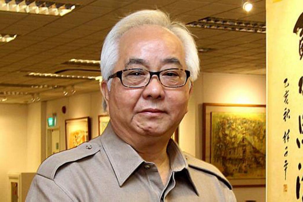 INGINKAN KERENCAMAN: Pengumpul karya seni, Encik Ong Teng Huat, mengubah gudang syarikatnya yang tidak terpakai menjadi ruang pameran seni, galeri dan tampungan karya. - Foto fail