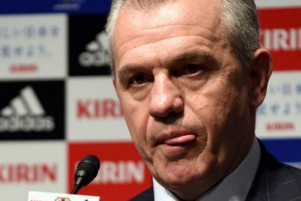 JAVIER AGUIRRE: Dilantik jurulatih baru Jepun selepas Piala Dunia lalu. – Foto AFP