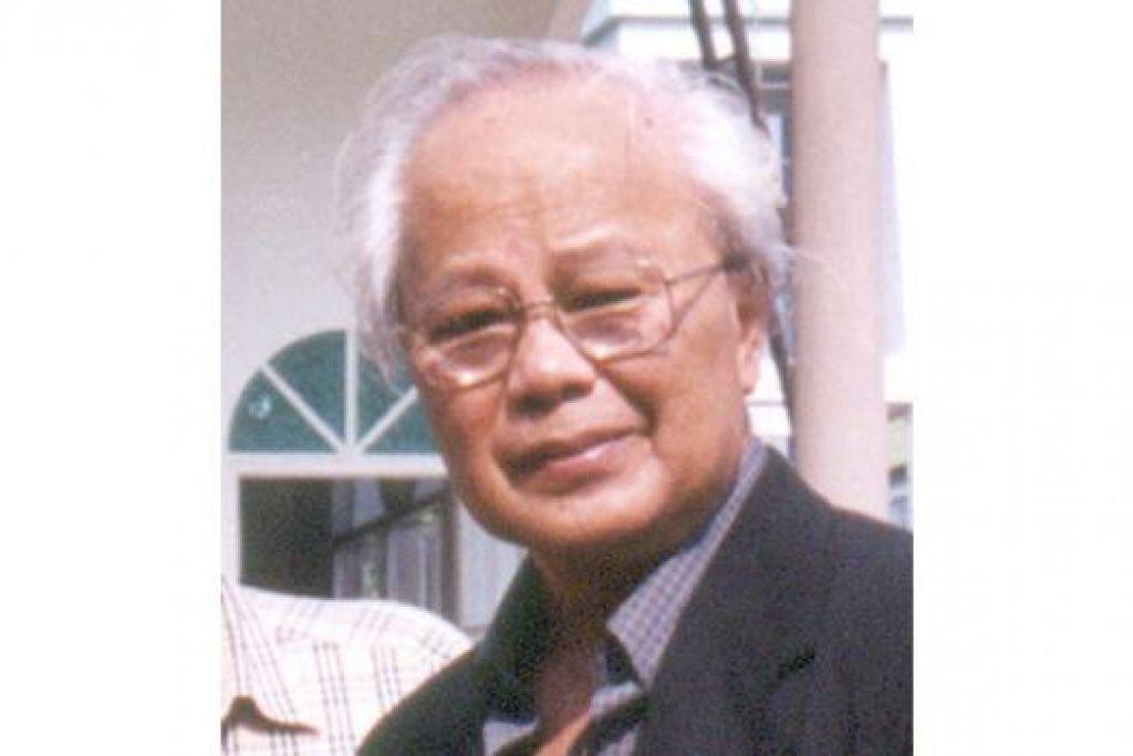 PROF EMERITUS DR ISMAIL HUSSEIN: Ketokohannya memimpin Gabungan Penulis Nasional Malaysia sejak penubuhannya (1970-2012) demi menyebarkan semangat dan kerjasama persuratan rumpun dan serantau, terus dihargai sehingga kini. - Foto fail