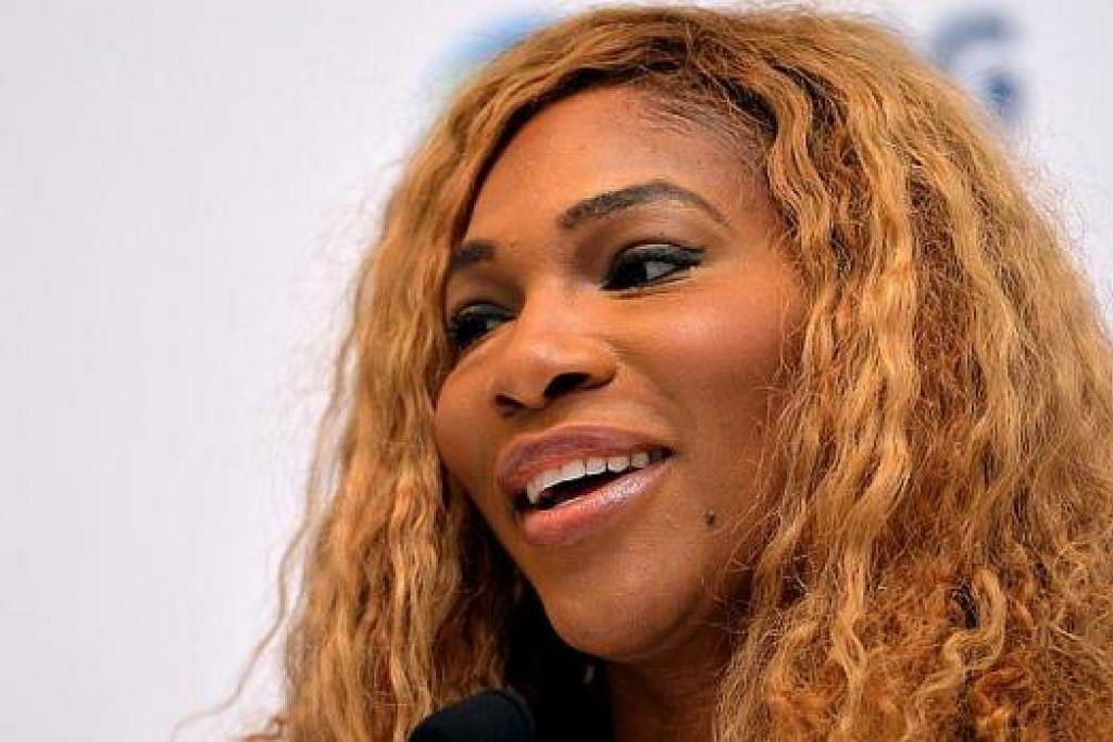Serena Williams: Walau usia telah mencapai 33 tahun, pemain nombor satu dunia ini yakin dapat mempertahankan kejuaraan WTA.