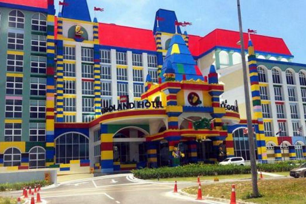 TERJEJAS: Kemerosotan yang dialami hotel di Johor Bahru bagaimanapun dikatakan bersifat sementara. - Foto-foto hiasan