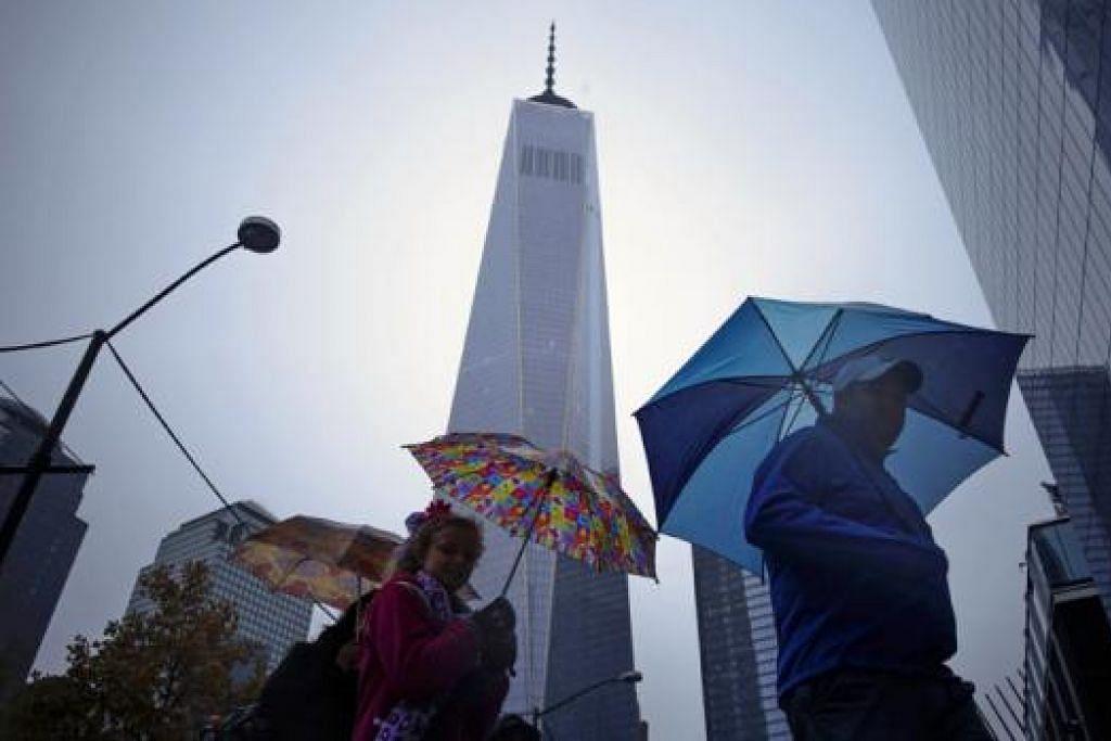 Pusat Dagangan Dunia - Foto REUTERS