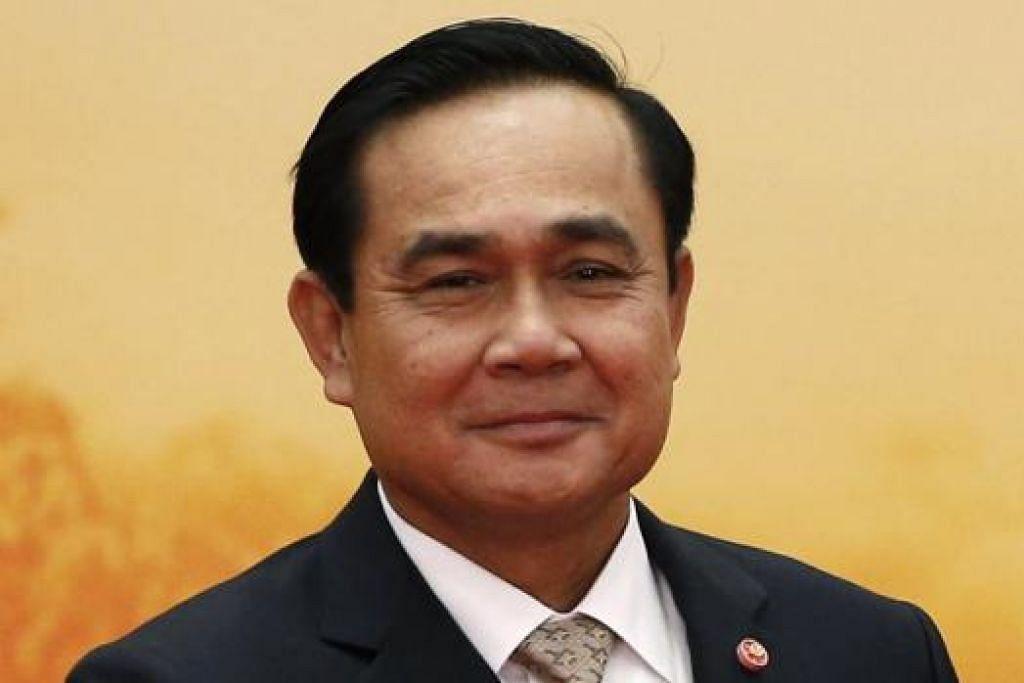 JENERAL PRAYUTH CHAN-OCHA: Perdana Menteri Thailand.