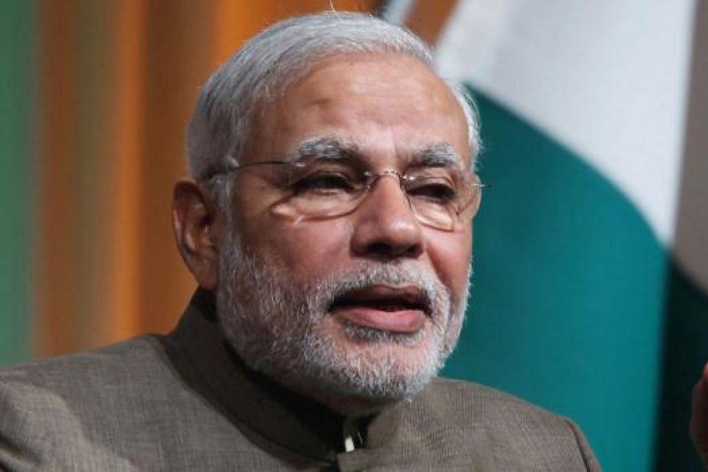 ENCIK NARENDRA MODI: Perdana Menteri India.