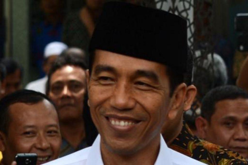 ENCIK JOKO WIDODO: Presiden Indonesia.