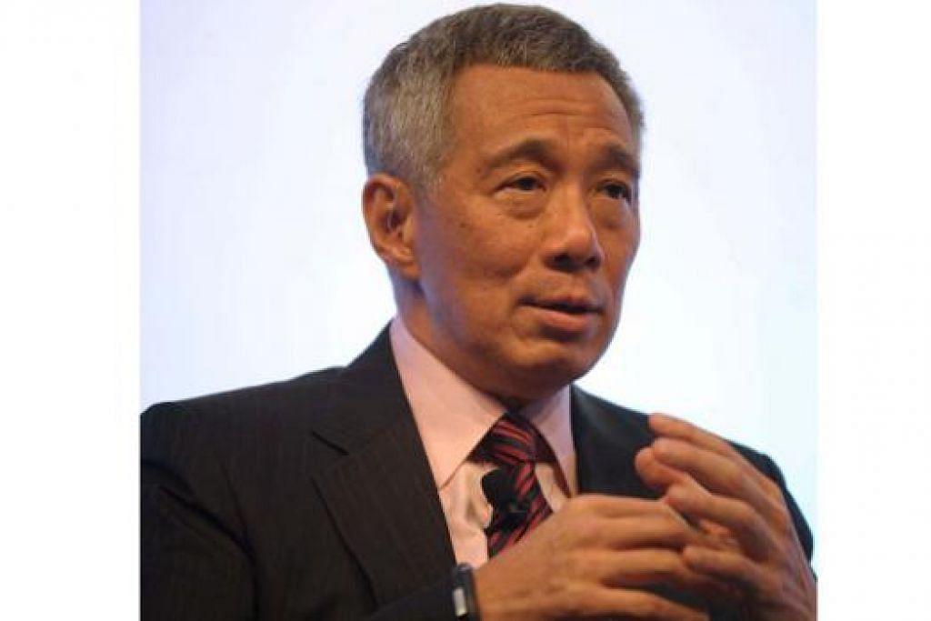 ENCIK LEE: Sifatkan usaha antirasuah China sebagai sesuatu yang mengagumkan. - Foto AFP