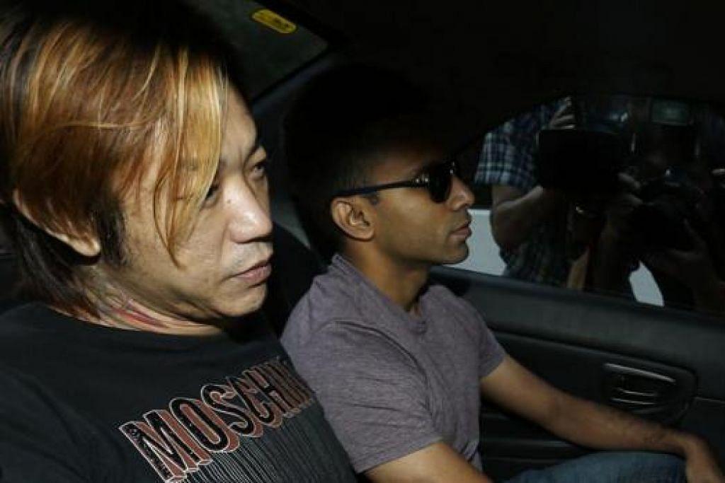 JALANI UJIAN PSIKIATRI: Lim (kiri) menghadapi hukuman mati jika didapati bersalah. - Foto THE STRAITS TIMES