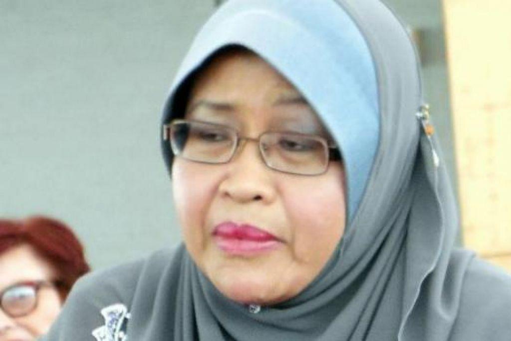 DAYANG HAJAH AMINAH HAJI MOMIN: Rumpun Melayu perlu naikkan nilai bahasa Melayu. - Foto MOHD RAMAN DAUD