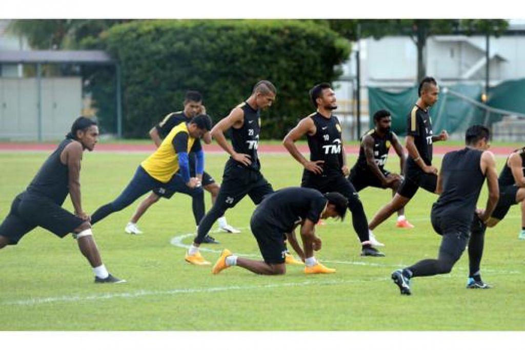 BURU MATA MAKSIMUM: Malaysia perlu menang dalam pertemuan malam ini untuk melayakkan diri ke separuh akhir. - Foto ZAINAL YAHYA