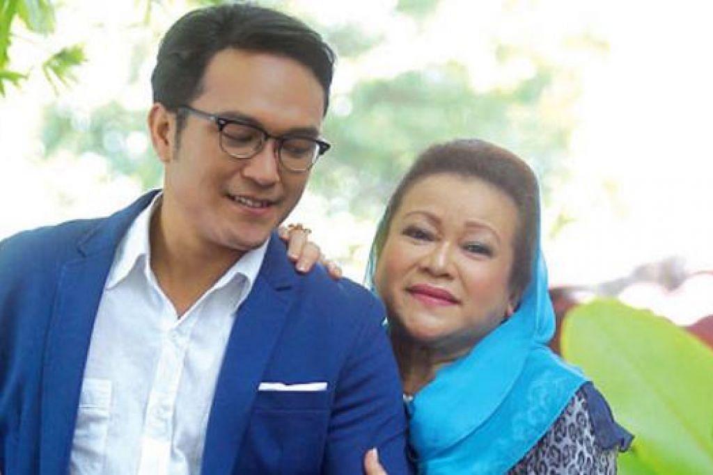 DEMI IBU: Pelakon popular, Shaheizy Sam, bekerja keras kerana ingin memuaskan hati ibunya, Khaty Fauziah Musa. - Foto HARIAN METRO