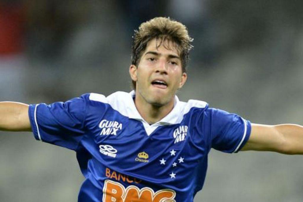 LUCAS SILVA: Pemain Brazil berusia 21 tahun ini dilaporkan sedang diburu kelab gergasi seperti Manchester United, Chelsea, Arsenal dan Real Madrid. - Foto REALIDADBLANCA.COM